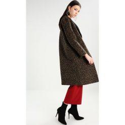 Płaszcze damskie pastelowe: Topshop SEAM LEOPARD Płaszcz wełniany /Płaszcz klasyczny black