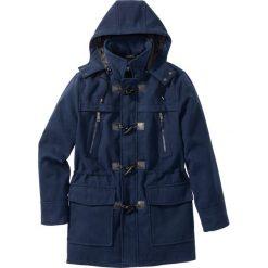 Płaszcze męskie: Płaszcz budrysówka z domieszką wełny bonprix ciemnoniebieski