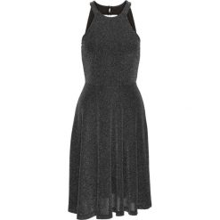 Sukienki balowe: Sukienka brokatowa bonprix czarny