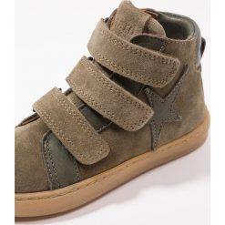 Bisgaard Tenisówki i Trampki wysokie green. Brązowe buty sportowe chłopięce Bisgaard, z materiału. Za 379,00 zł.