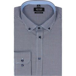 Koszula bexley 2228 długi rękaw custom fit brąz. Brązowe koszule męskie jeansowe marki Recman, m, button down, z długim rękawem. Za 69,99 zł.