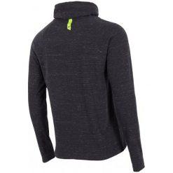 4F Męska Koszulka H4Z17 tsml003 Czarny Melanż L. Czarne koszulki sportowe męskie 4f, l, z bawełny, z długim rękawem. W wyprzedaży za 56,00 zł.