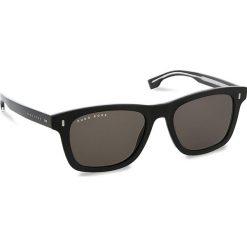 Okulary przeciwsłoneczne BOSS - 0925/S Black 807. Czarne okulary przeciwsłoneczne damskie marki Boss. W wyprzedaży za 489,00 zł.