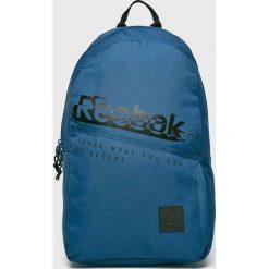 Reebok - Plecak. Szare plecaki męskie Reebok, z poliesteru. W wyprzedaży za 99,90 zł.