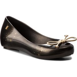 Baleriny MELISSA - Ultragirl Elements Ad 32390 Black/Gold 06493. Czarne meliski damskie Melissa, z tworzywa sztucznego. W wyprzedaży za 199,00 zł.