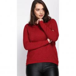 Czerwony Sweter Fast Drive. Czerwone swetry klasyczne damskie Born2be, na jesień, m. Za 59,99 zł.