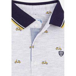 Mayoral - T-shirt dziecięcy 68-98. Szare t-shirty męskie Mayoral, z bawełny. Za 79,90 zł.