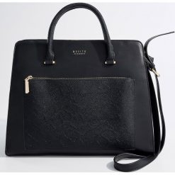 Torba city bag - Czarny. Czarne torebki klasyczne damskie Mohito. Za 149,99 zł.