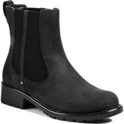 Sztyblety CLARKS - Orinoco Hot 20356978 4 Black. Czarne botki damskie skórzane marki Clarks. W wyprzedaży za 239,00 zł.