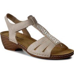 Rzymianki damskie: Sandały INBLU – TR186J10 Beżowy