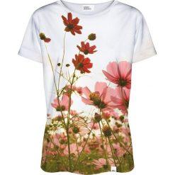 Colour Pleasure Koszulka damska CP-030 213 biało-zielona r. XL/XXL. Fioletowe bluzki damskie marki Colour pleasure, uniwersalny. Za 70,35 zł.