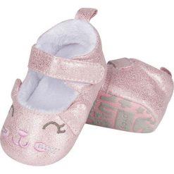 Soxo - Kapcie dziecięce. Szare kapcie dziewczęce marki Soxo, z gumy, z okrągłym noskiem. Za 44,99 zł.