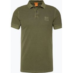 Koszulki polo: BOSS Casual – Męska koszulka polo – Pascha, zielony