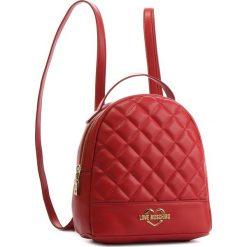 Plecak LOVE MOSCHINO - JC4206PP06KA0500 Rosso. Czerwone plecaki damskie Love Moschino, ze skóry ekologicznej, eleganckie. Za 679,00 zł.