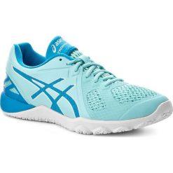 Buty ASICS - Conviction X S753N Aqua Splash/Diva Blue/White 6743. Niebieskie buty do fitnessu damskie Asics, z gumy. W wyprzedaży za 309,00 zł.