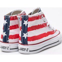 Andy-Z - Trampki dziecięce. Szare buty sportowe dziewczęce marki Andy-Z, z gumy, na sznurówki. W wyprzedaży za 44,90 zł.
