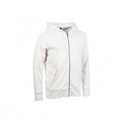 Bluza na zamek z kapturem Gym & Pilates. Szare bejsbolówki męskie Adidas, xl, z bawełny, z kapturem. Za 149,99 zł.