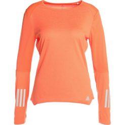 Adidas Performance RESPONSE TEE Koszulka sportowa hireor. Brązowe t-shirty damskie adidas Performance, xs, z poliesteru, z długim rękawem. Za 149,00 zł.