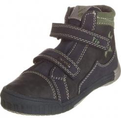Sneakersy w kolorze granatowo-zielonym. Niebieskie trampki chłopięce Zimowe obuwie dla dzieci, z materiału. W wyprzedaży za 115,95 zł.