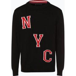 Tommy Hilfiger - Sweter męski, czarny. Czarne swetry klasyczne męskie TOMMY HILFIGER, m. Za 599,95 zł.