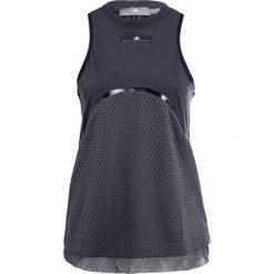 Adidas by Stella McCartney YO TANK Koszulka sportowa dark blue. Niebieskie t-shirty damskie adidas by Stella McCartney, xs, z bawełny. W wyprzedaży za 223,20 zł.