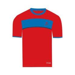 T-shirty chłopięce: Huari Koszulka dziecięca Ibrox Fiery Red/french Blue r. 164