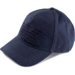 Czapka z daszkiem EMPORIO ARMANI - 627252 8P558 52335 Light Blue Denim. Niebieskie czapki z daszkiem męskie Emporio Armani, z bawełny. W wyprzedaży za 219,00 zł.