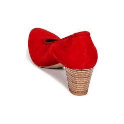 Czółenka Perlato  POLERADUI. Czerwone buty ślubne damskie PERLATO. Za 279,20 zł.