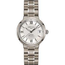 RABAT ZEGAREK CERTINA DS Stella C031.210.44.113.00. Białe zegarki damskie CERTINA. W wyprzedaży za 2103,20 zł.