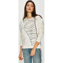 Tally Weijl - Bluza. Szare bluzy z nadrukiem damskie marki TALLY WEIJL, l, z bawełny, bez kaptura. Za 89,90 zł.