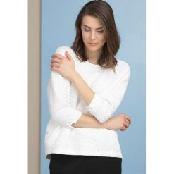 Bluzy rozpinane damskie: Bluza z oryginalnym wzorem