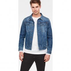 G-Star Raw - Kurtka jeansowa. Niebieskie kurtki męskie jeansowe marki Reserved, l. Za 599,90 zł.