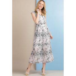Sukienki: Sukienka z plisowanym dołem
