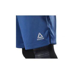 Szorty i Bermudy  Reebok Sport  Spodenki SpeedWick Knit. Niebieskie bermudy męskie marki Adidas, m. Za 129,00 zł.