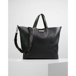Topshop SELINA SOFT Torba na zakupy black. Czarne torebki klasyczne damskie Topshop. Za 139,00 zł.