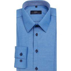 Koszula MICHELE 15-01-69-K. Białe koszule męskie na spinki marki Giacomo Conti, m, z bawełny, z klasycznym kołnierzykiem. Za 149,00 zł.