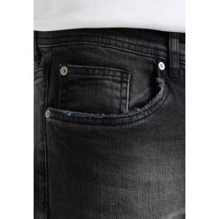 KIOMI Jeansy Slim Fit black denim. Niebieskie jeansy męskie marki KIOMI. W wyprzedaży za 126,65 zł.