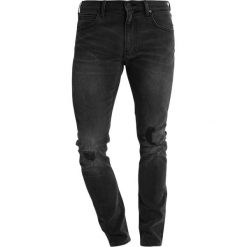 Lee LUKE Jeansy Slim Fit torn out. Szare jeansy męskie relaxed fit Lee. Za 349,00 zł.