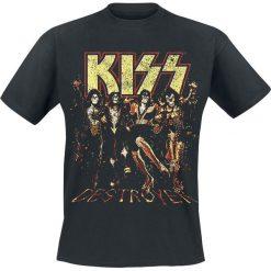 Kiss Destroyer T-Shirt czarny. Czarne t-shirty męskie marki Kiss, l. Za 74,90 zł.