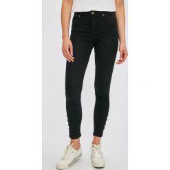 Morgan - Jeansy Pressi. Czarne jeansy damskie marki Morgan, z bawełny. W wyprzedaży za 199,90 zł.