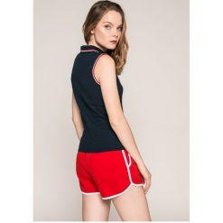 Tommy Jeans - Top. Szare topy damskie marki Tommy Jeans, l, z bawełny. W wyprzedaży za 139,90 zł.