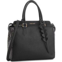 Torebka MONNARI - BAGB110-020 Black With Grey. Czarne torebki klasyczne damskie marki Monnari, ze skóry ekologicznej. W wyprzedaży za 199,00 zł.
