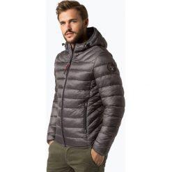 Napapijri - Męska kurtka pikowana – Noyi4x, szary. Szare kurtki męskie pikowane marki Napapijri, l, z materiału, z kapturem. Za 899,95 zł.