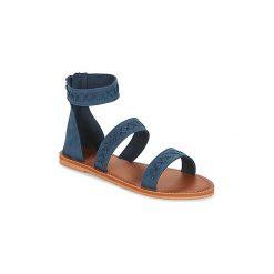 Sandały Roxy  NATALIE J SNDL NVY. Niebieskie sandały damskie Roxy. Za 139,30 zł.