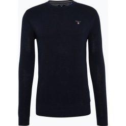 Swetry męskie: Gant – Sweter męski, niebieski