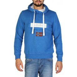 Napapijri Bluza Męska Xl Niebieska. Szare bluzy męskie rozpinane marki Napapijri, l, z materiału, z kapturem. Za 479,00 zł.