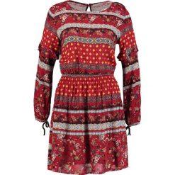 Sukienki hiszpanki: Springfield VESTIDO FRANJAS Sukienka letnia reds