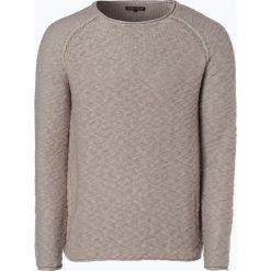 Swetry klasyczne męskie: Review – Sweter męski, beżowy