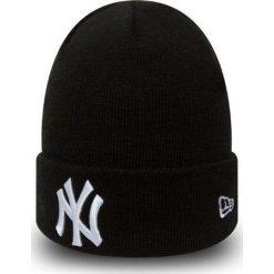 New Era - Czapka New York Yankees. Czarne czapki zimowe męskie New Era, z dzianiny. Za 119,90 zł.