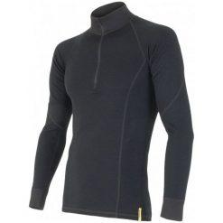 Sensor Koszulka Termoaktywna Z Długim Rękawem Double Face Merino Wool M Black M. Czarne koszulki turystyczne męskie Sensor, m. Za 229,00 zł.